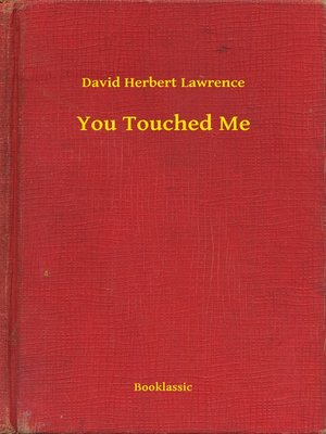 cover image of You Touched Me