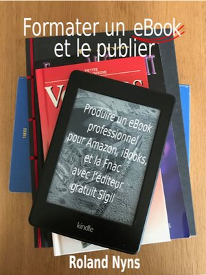 cover image of Formater un ebook et le publier