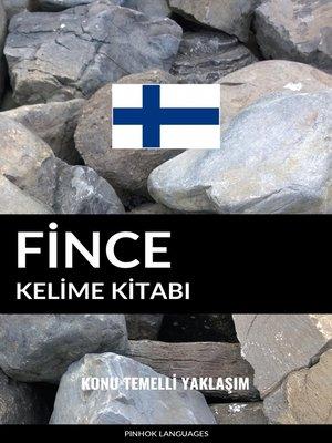 cover image of Fince Kelime Kitabı