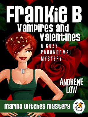 cover image of Frankie B - Vampires and Valentines
