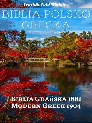 cover image of Biblia Polsko Grecka