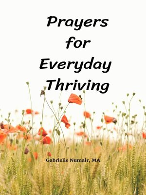 cover image of Prayers for Everyday Thriving