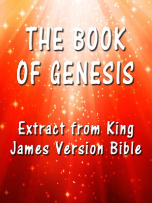 cover image of The Book of Genesis