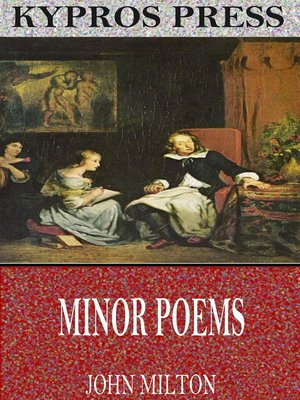 cover image of Minor Poems