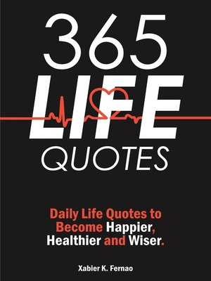 cover image of 365 Life Quotes