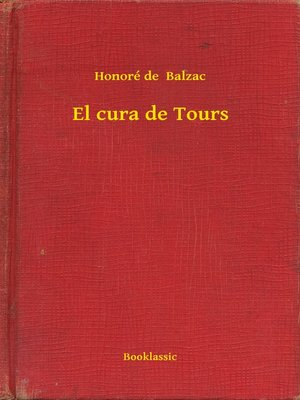 cover image of El cura de Tours