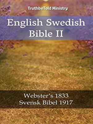 cover image of English Swedish Bible II