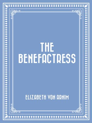 cover image of The Benefactress