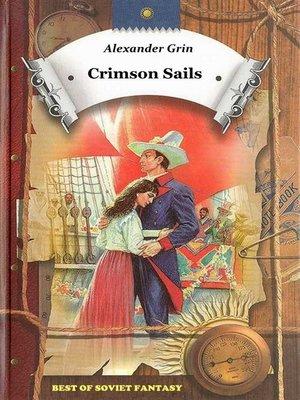 cover image of Crimson Sails
