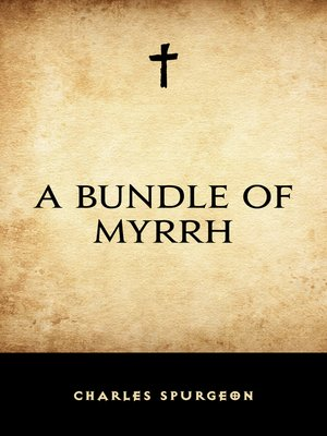 cover image of A Bundle of Myrrh