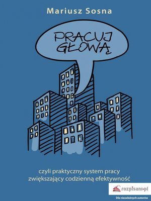 cover image of Pracuj głową