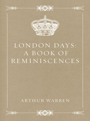 cover image of London Days