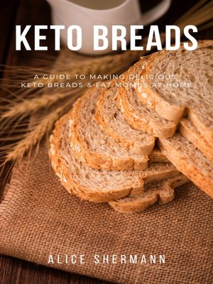 cover image of Keto Breads