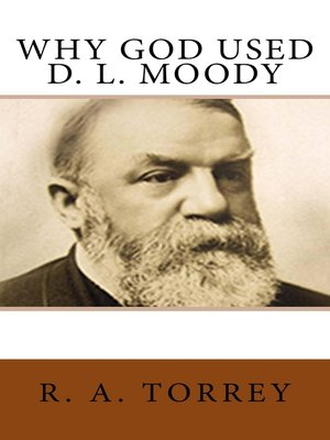 cover image of Why God Used D. L. Moody