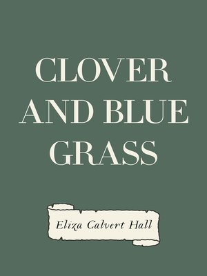 cover image of Clover and Blue Grass