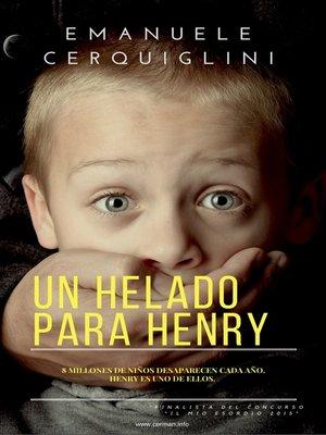 cover image of Un Helado Para Henry