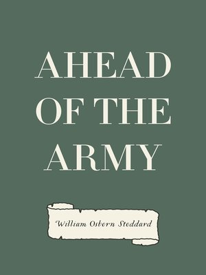 cover image of Ahead of the Army