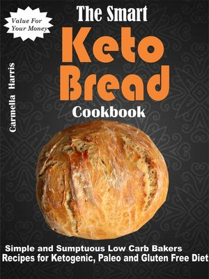 cover image of The Smart Keto Bread Cookbook