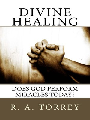 cover image of Divine Healing