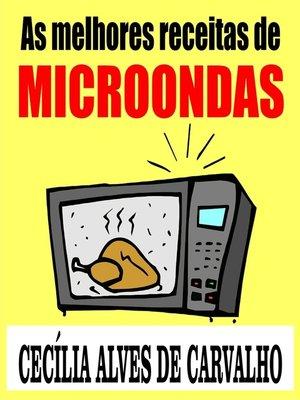 cover image of As melhores receitas de microondas