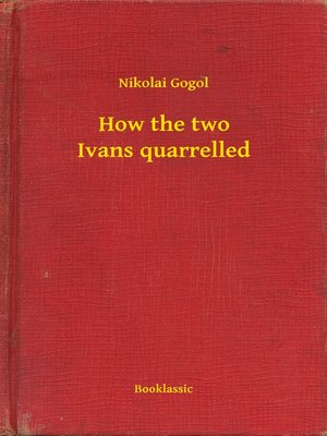 cover image of How the two Ivans quarrelled