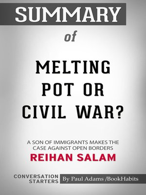 cover image of Summary of Melting Pot or Civil War?