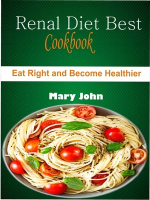 cover image of Renal Diet Best Cookbook