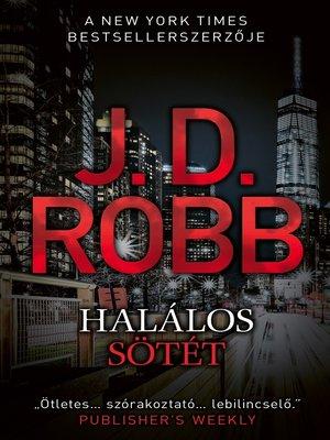 cover image of Halálos sötét