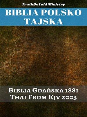 cover image of Biblia Polsko Tajska