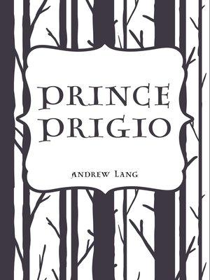 cover image of Prince Prigio