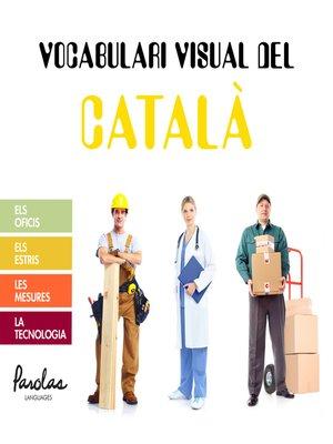 cover image of Vocabulari visual del català