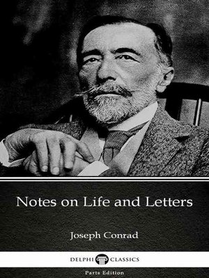 cover image of Notes on Life and Letters by Joseph Conrad (Illustrated)