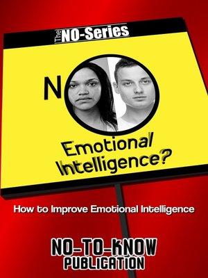 cover image of NO Emotional Intelligence?