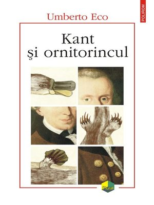 cover image of Kant și ornitorincul