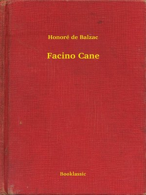 cover image of Facino Cane