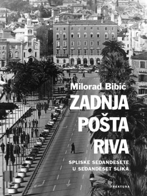 cover image of Zadnja pošta Riva