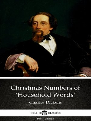 cover image of Christmas Numbers of 'Household Words' by Charles Dickens