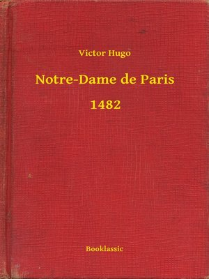 cover image of Notre-Dame de Paris--1482