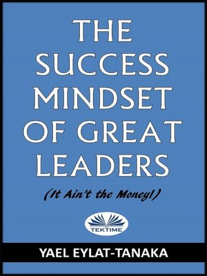 cover image of The Success Mindset of Great Leaders