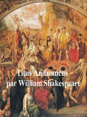 cover image of Titus Andronicus in French