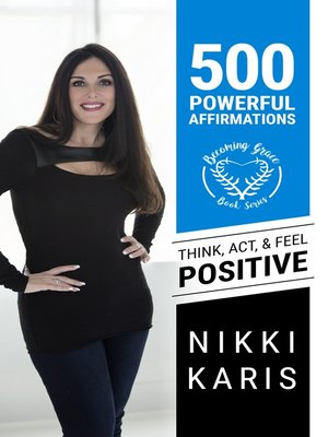 cover image of 500 Powerful Affirmations