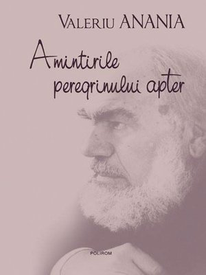 cover image of Amintirile peregrinului apter