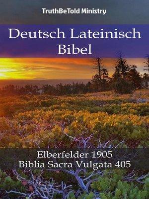 cover image of Deutsch Lateinisch Bibel
