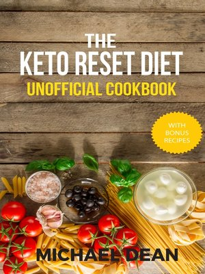 cover image of The Keto Reset Diet Unofficial Cookbook