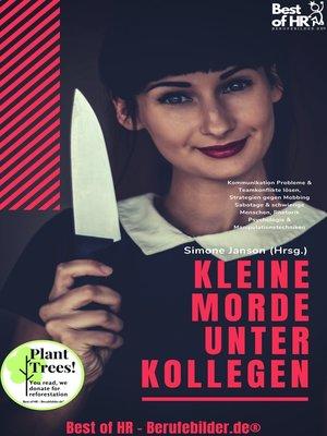 cover image of Kleine Morde unter Kollegen