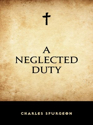 cover image of A Neglected Duty
