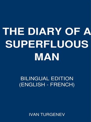 cover image of The Diary of a Superfluous Man