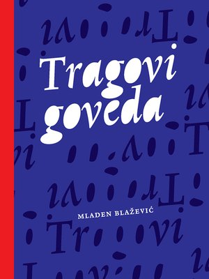 cover image of Tragovi goveda