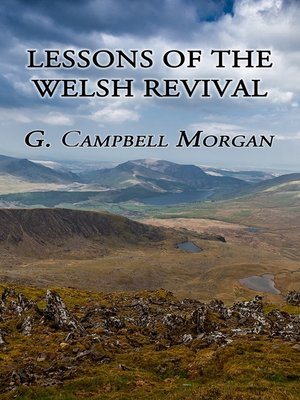 cover image of Lessons of the Welsh Revival