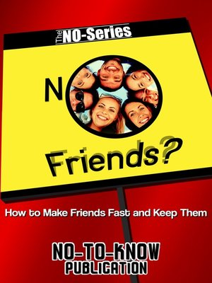 cover image of NO Friends?